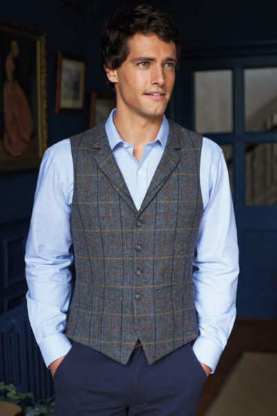 memphis-waistcoat-charcoal-brown-check