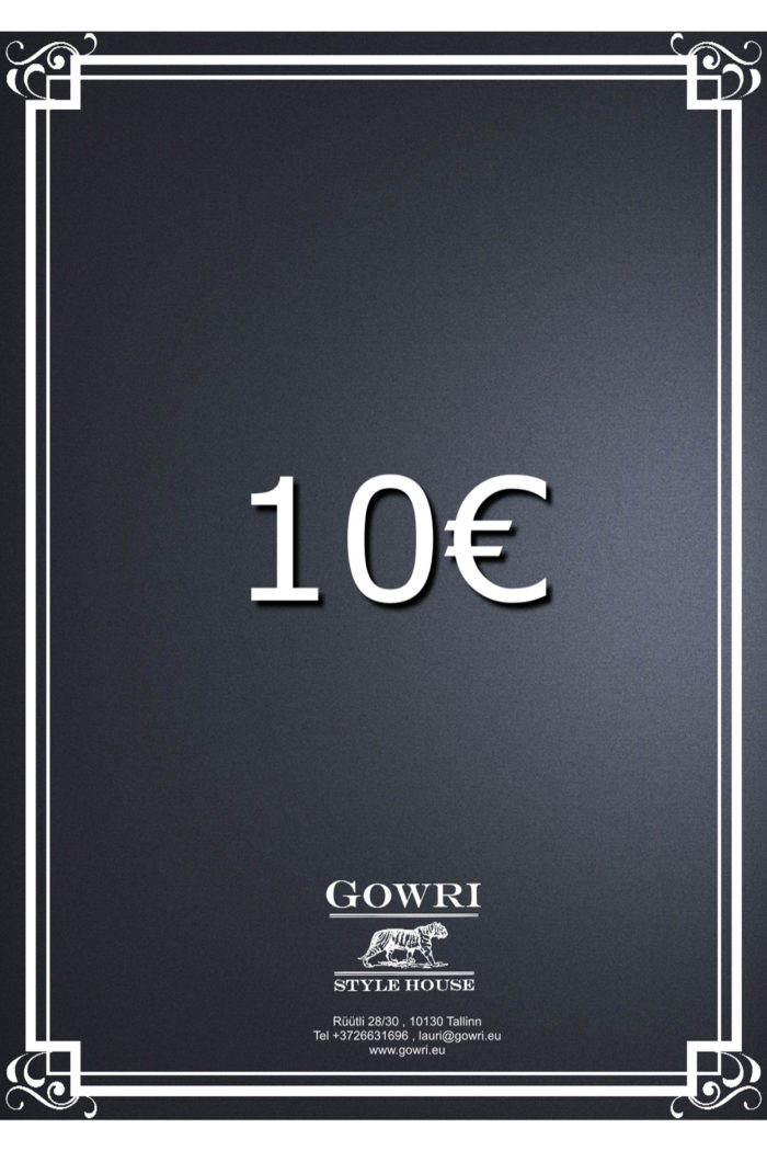 10€ Gift Certificate