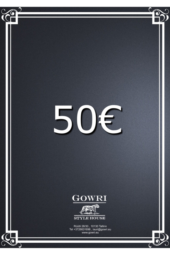 50€ Gift Certificate