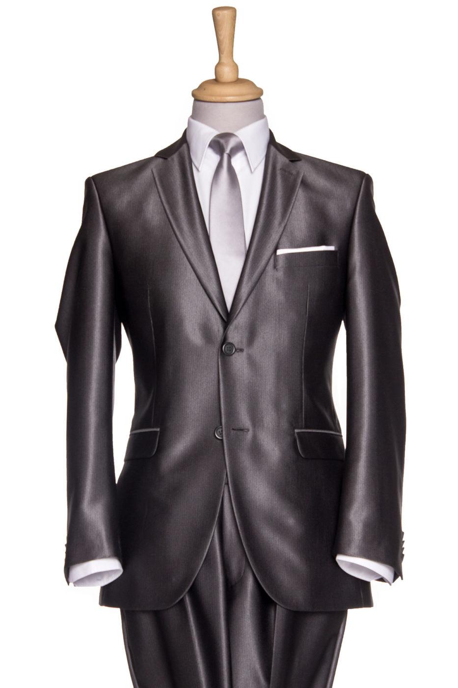 Barcelona Grey Suit