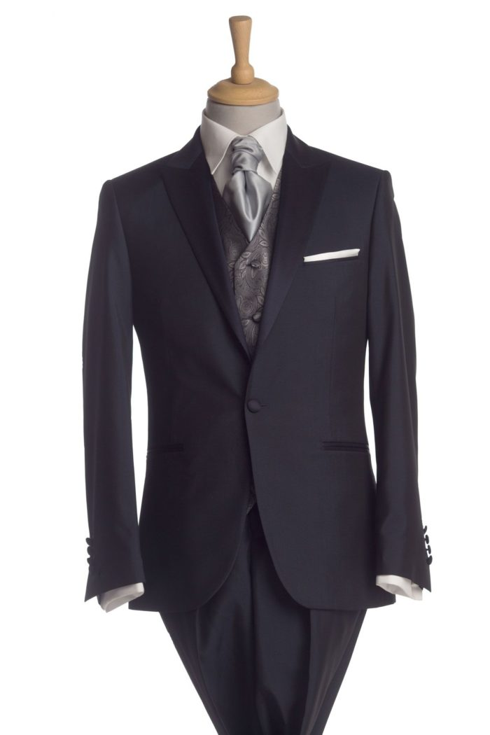 Belmont Navy Suit