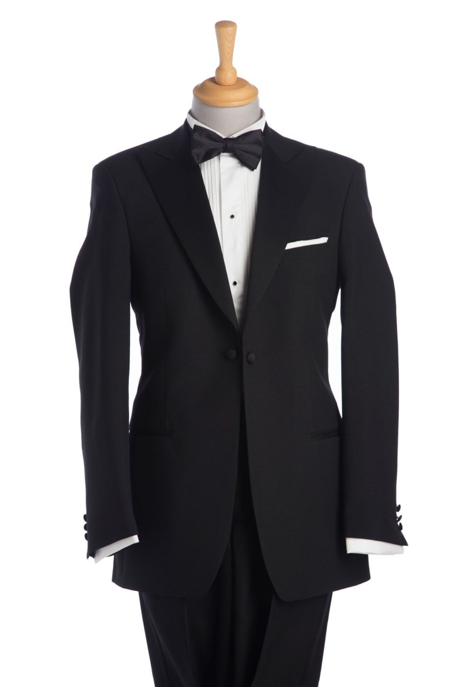Black Peak Lapel Tuxedo