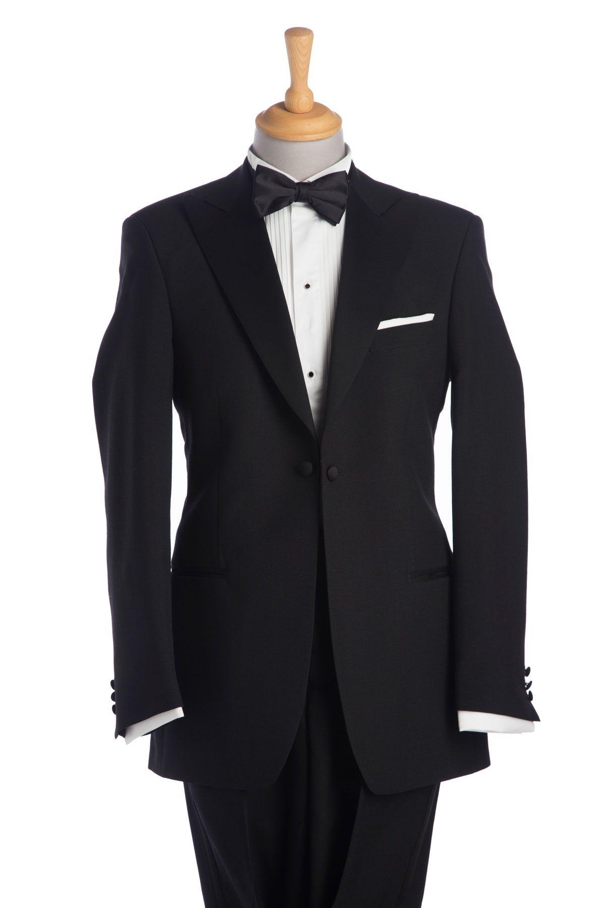 17d7a52202f Black Peak Lapel Tuxedo – Gowri Style House