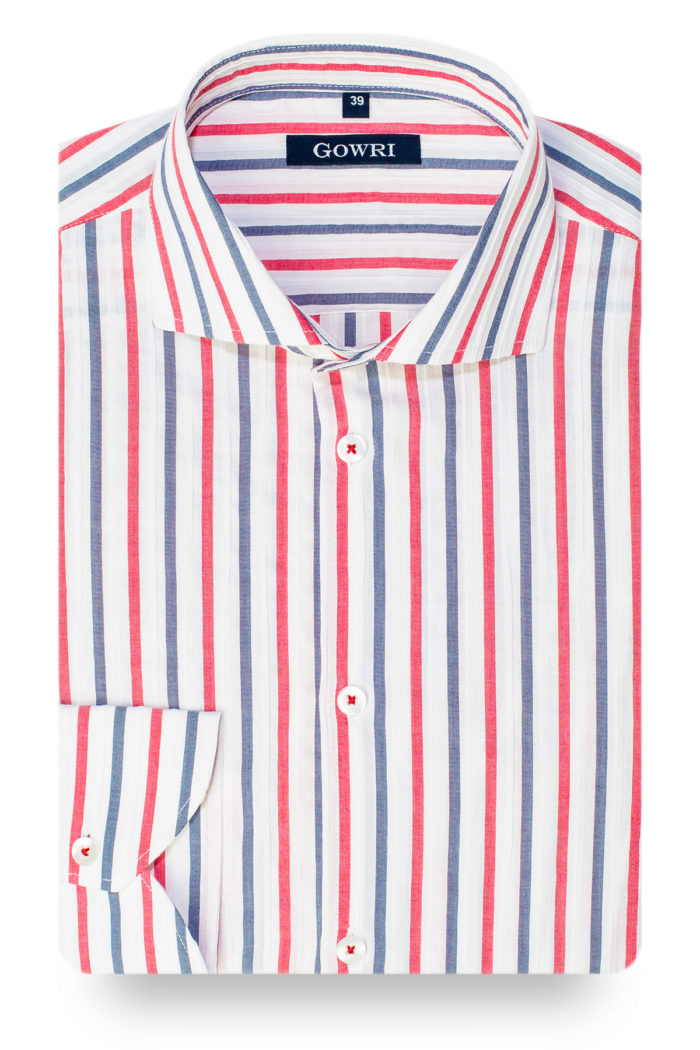 Bormeo Striped Stretch Shirt