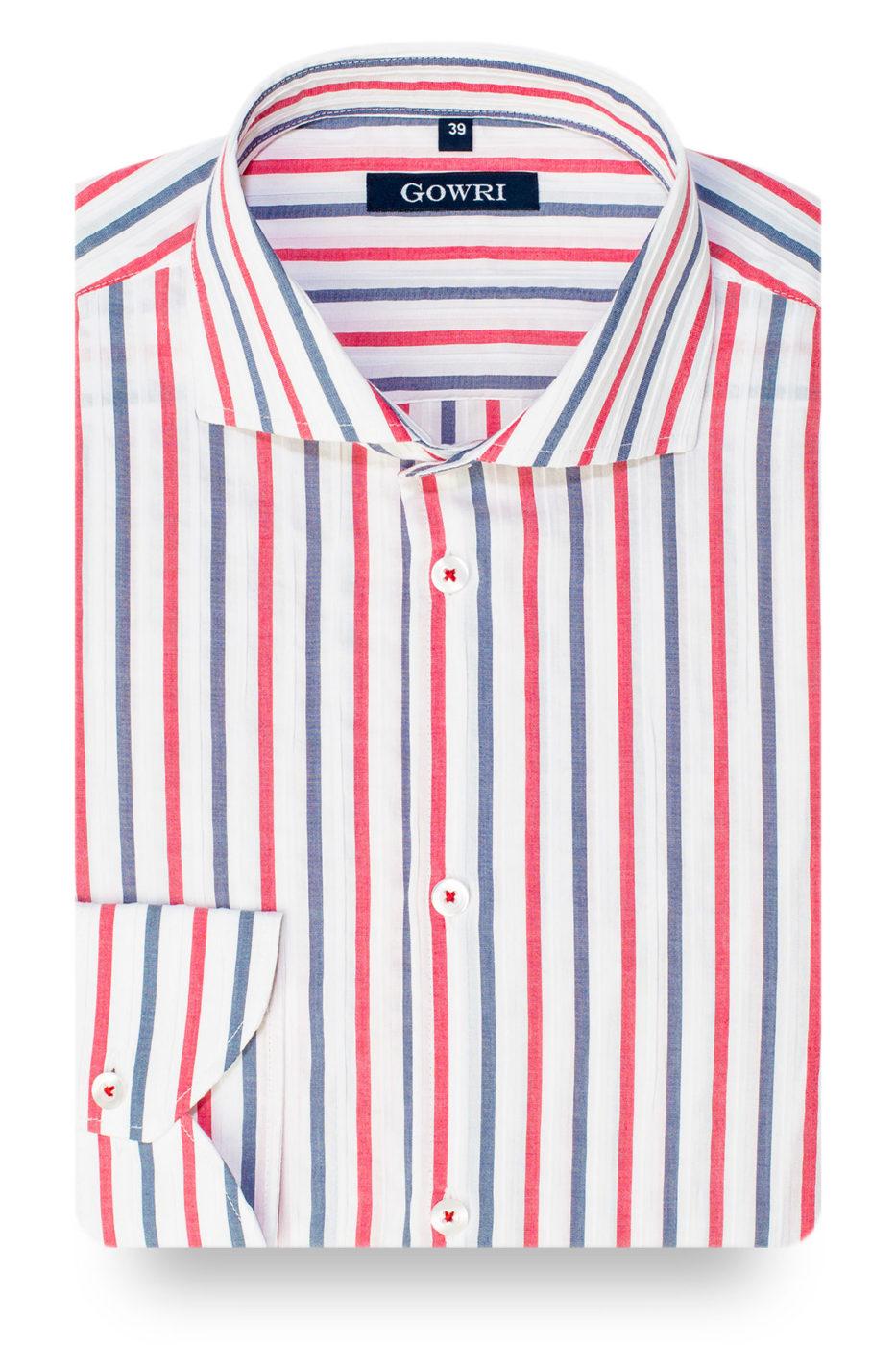 Bormeo Striped Stretch Shirt