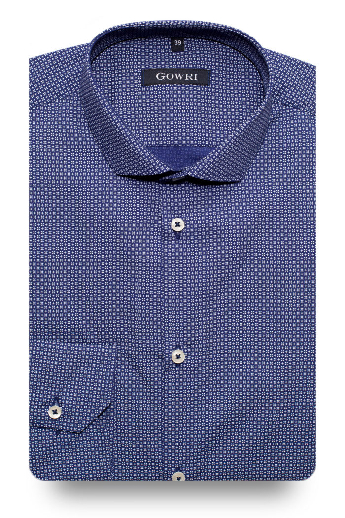 Camden Blue Patterned Shirt