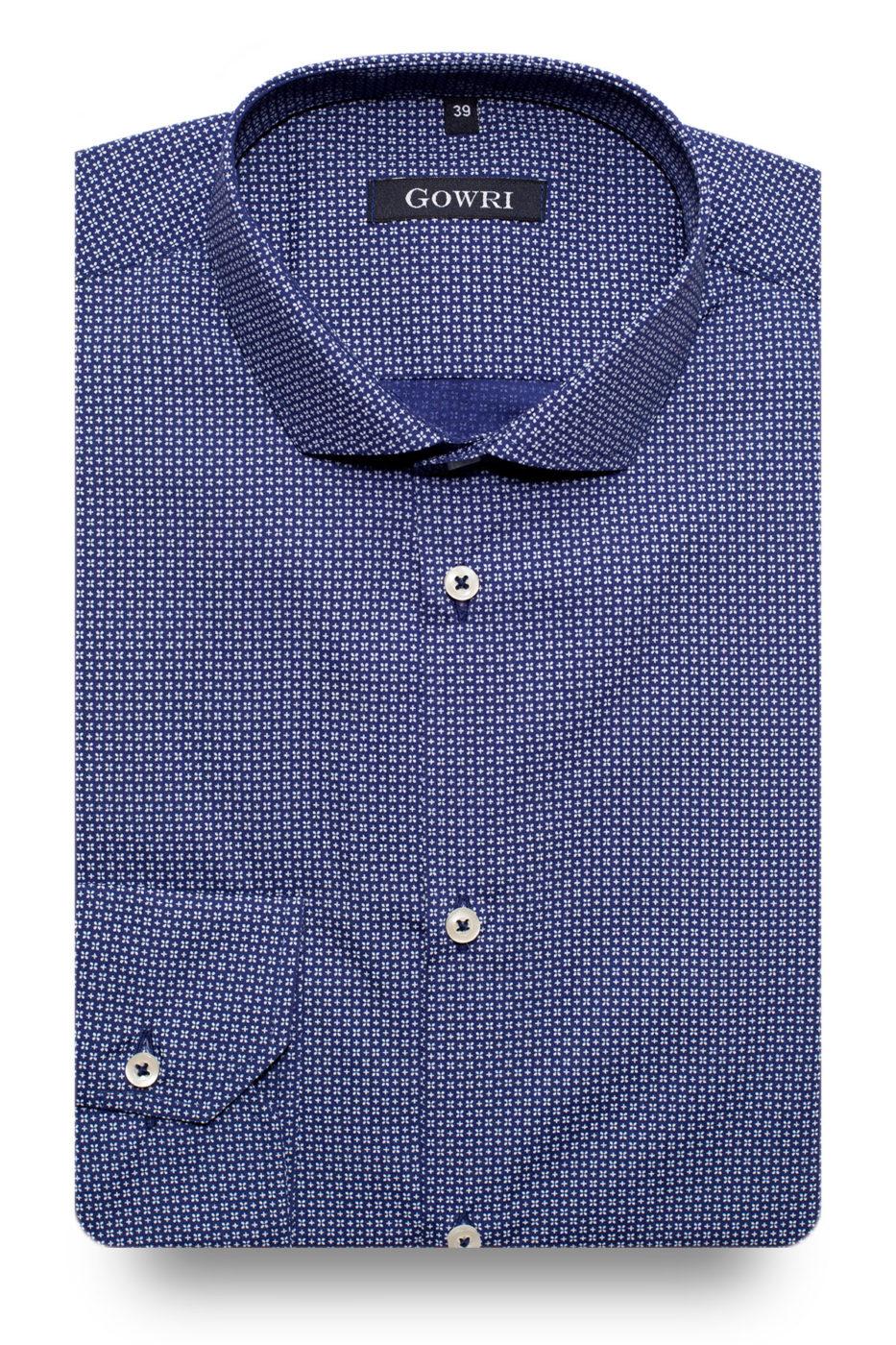 Camden Blue Patterned Shirt