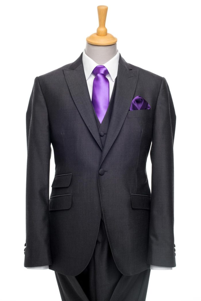 Castilia Grey 3-Piece Suit