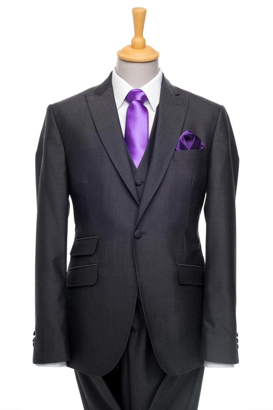 Castilia Grey 3-Piece Suit