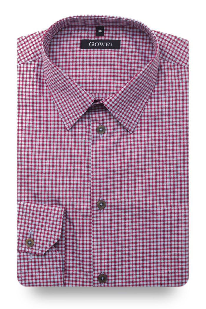 Duca Red Checked Shirt