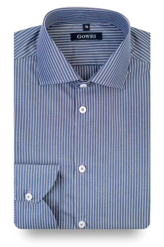 Emperor Blue Striped Shirt 1 (2)