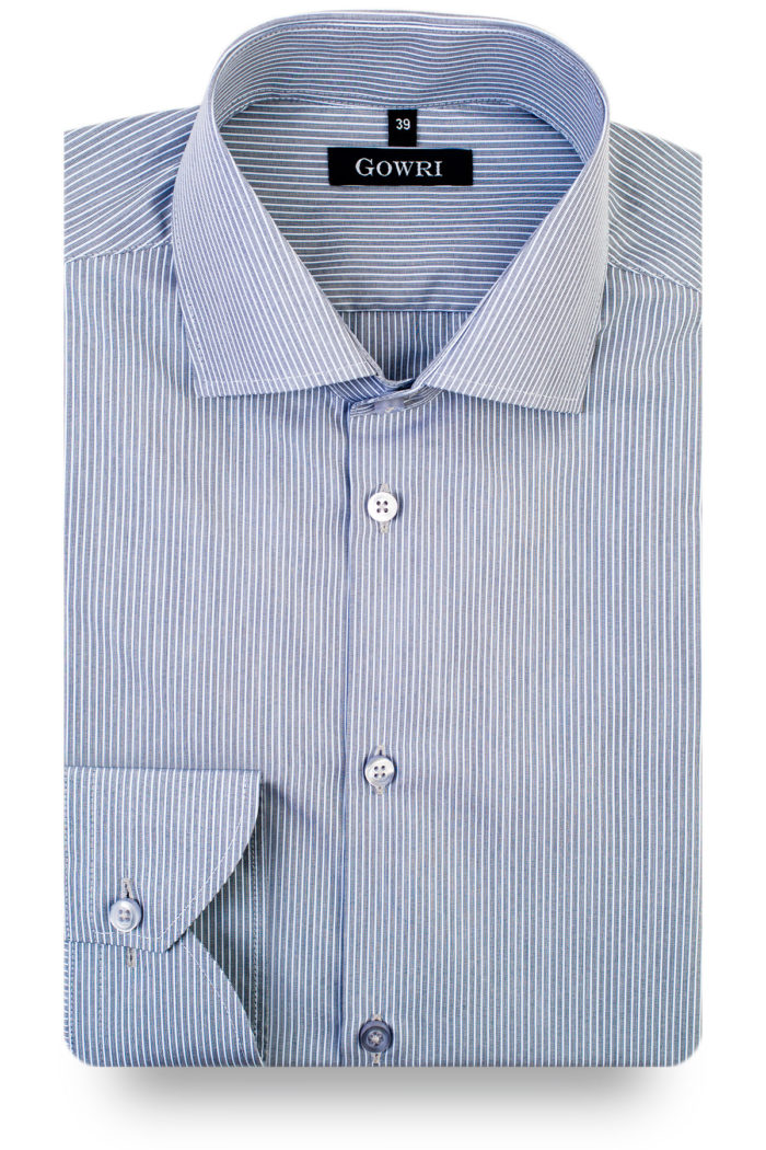 Emperor Grey Striped Shirt (1)