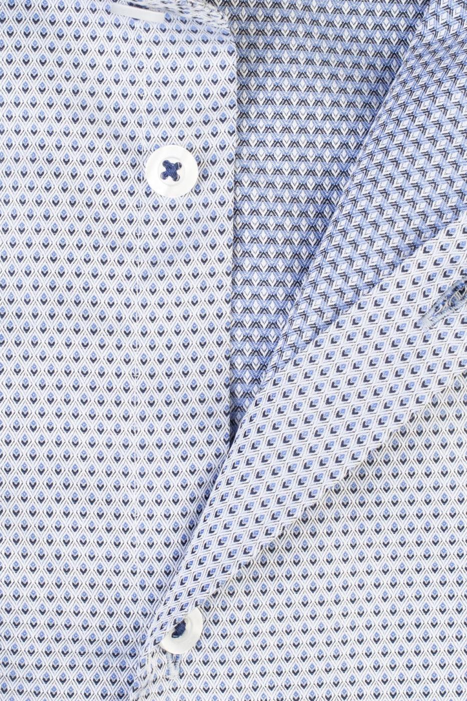 Fokus Grey Patterned Shirt (2)