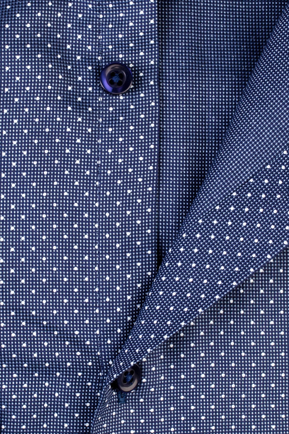 Magnus Blue Dotted Shirt (1)