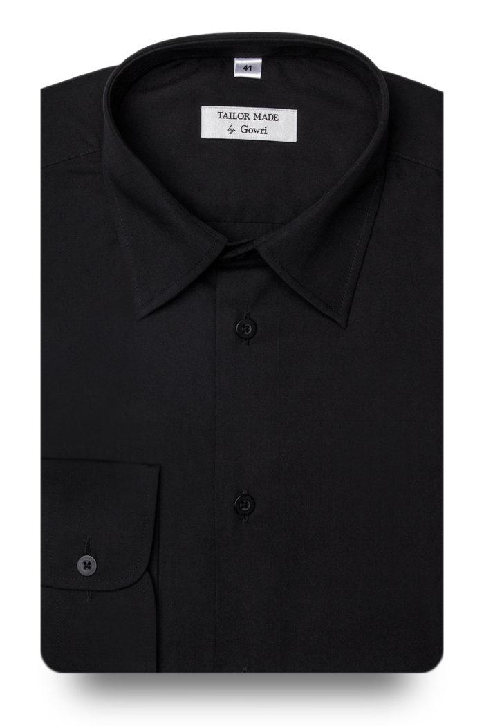Poplin Black Shirt