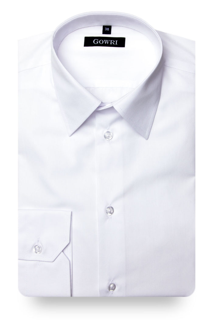 Poplin White Shirt