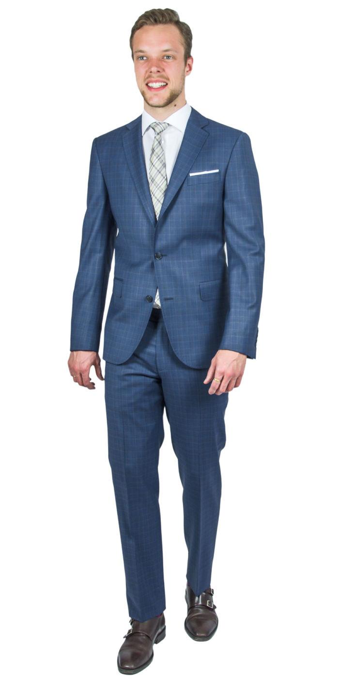 Portobello Sinine Ruuduline Ülikond 230930112018 (1)
