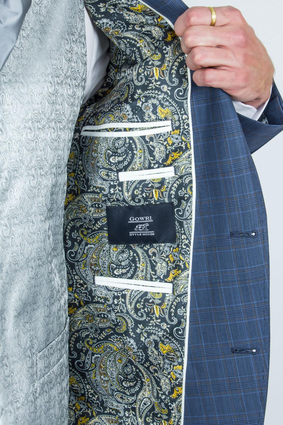 Portobello Sinine Ruuduline Ülikond 230930112018 (3)
