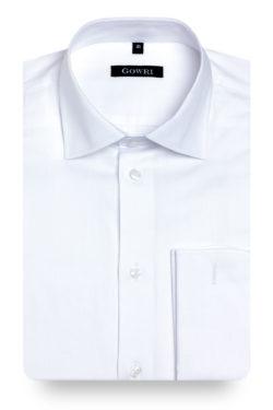 Royal Herringbone White Shirt