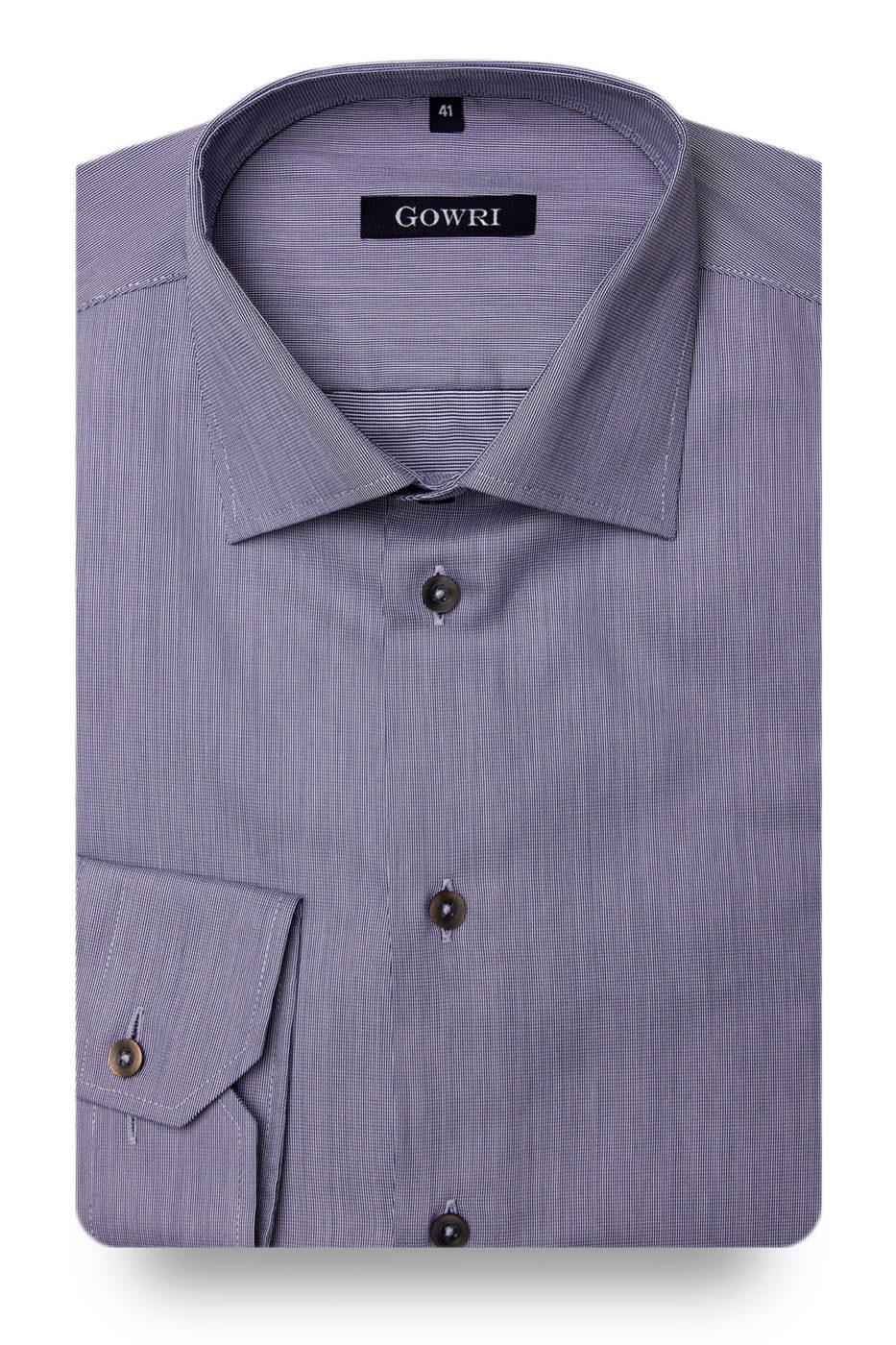 Royal Pique Denim Blue Shirt