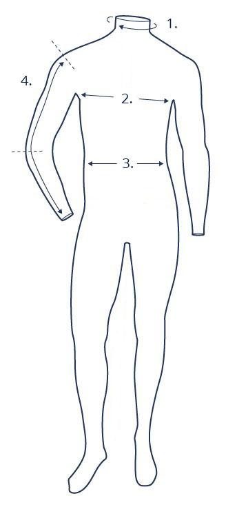 Shirt size guide