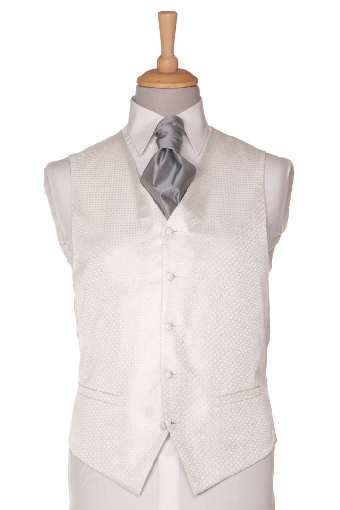 Silver Dotted Waistcoat
