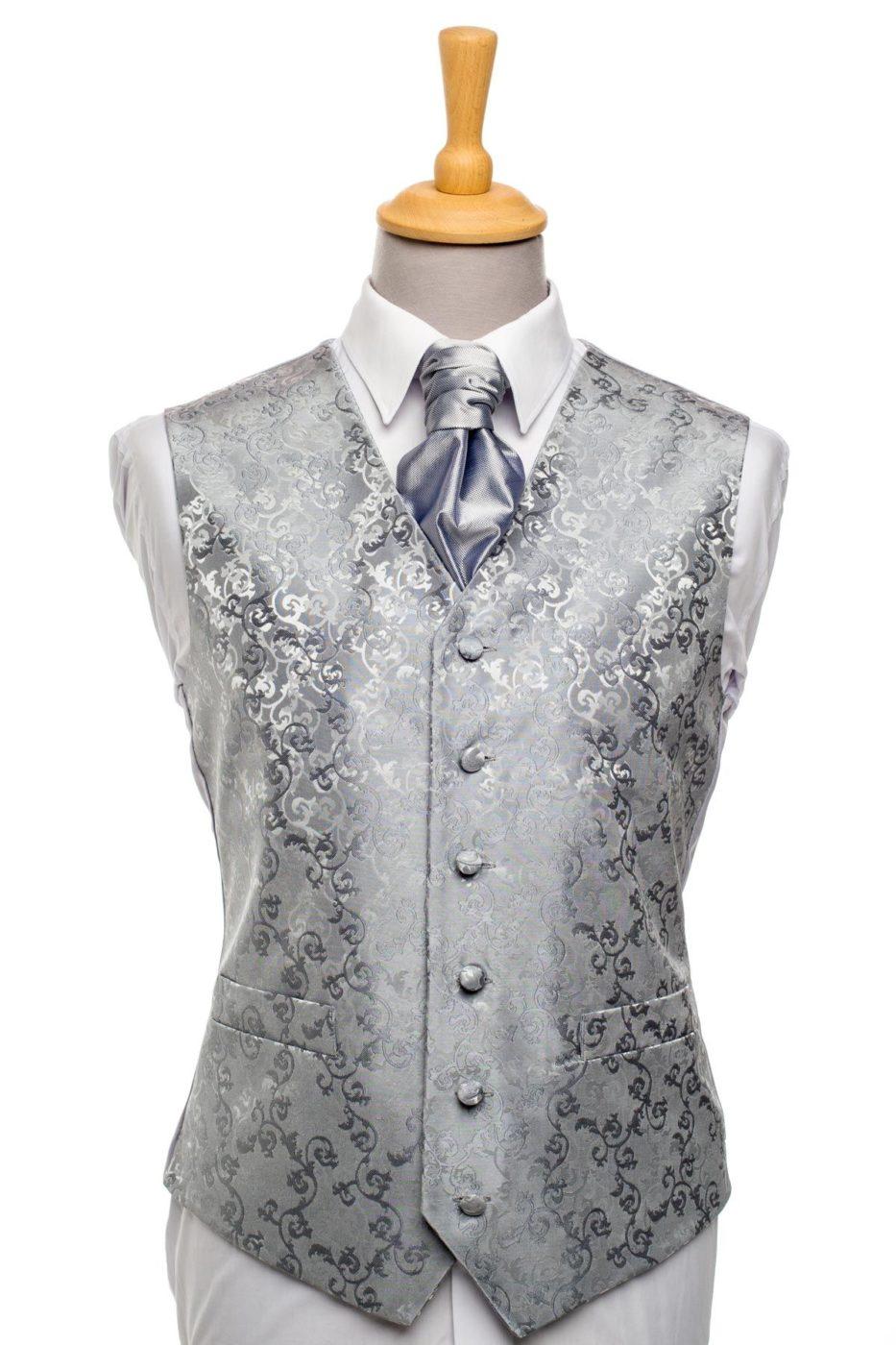 Silver Swirl Waistcoat