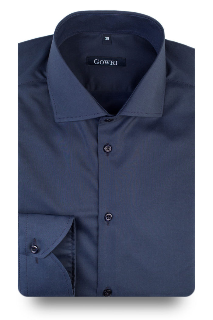 Ulf Navy Stretch Shirt (3)