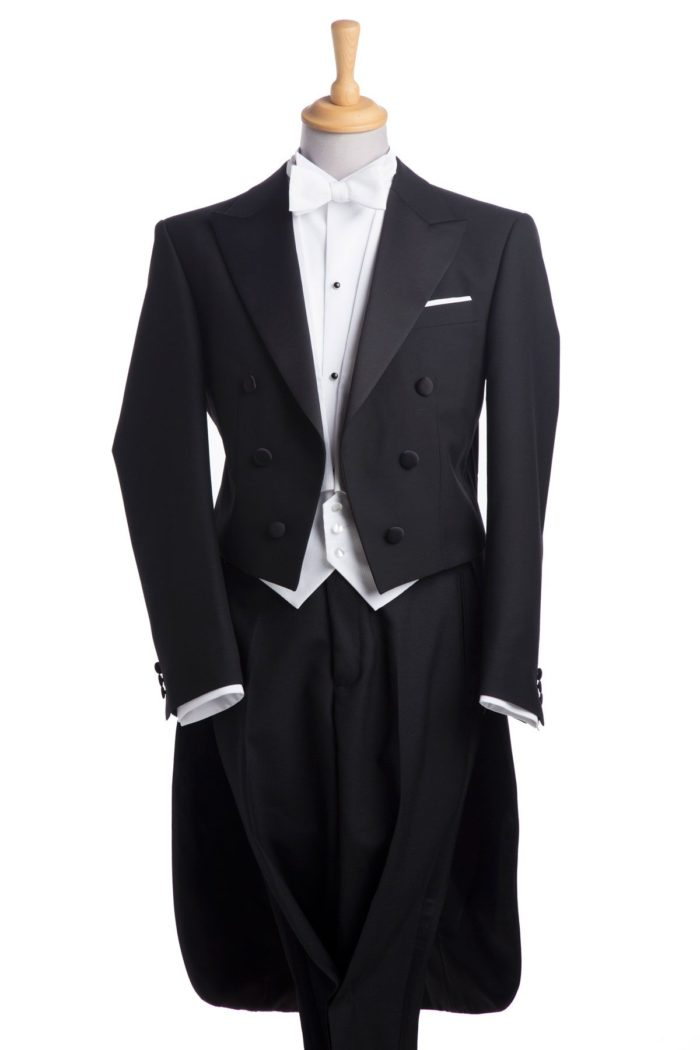 White Tie Dress Suit