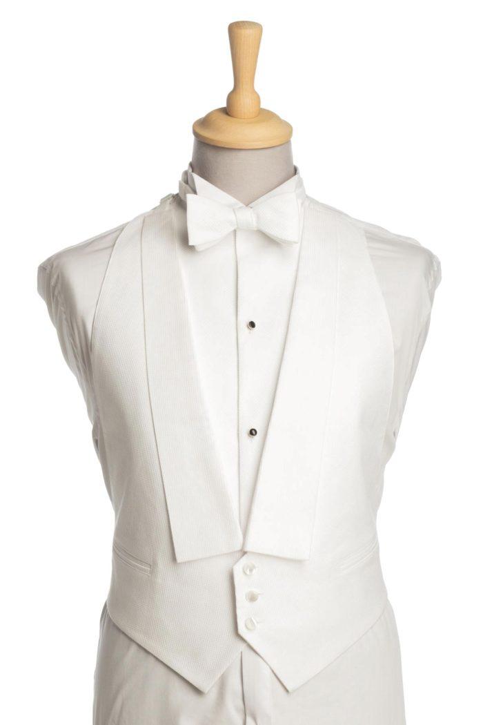 White Tie Waistcoat